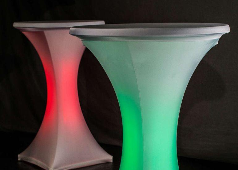 Vase Mit Led Beleuchtung | Details Hvt Hochrhein Veranstaltungstechnik