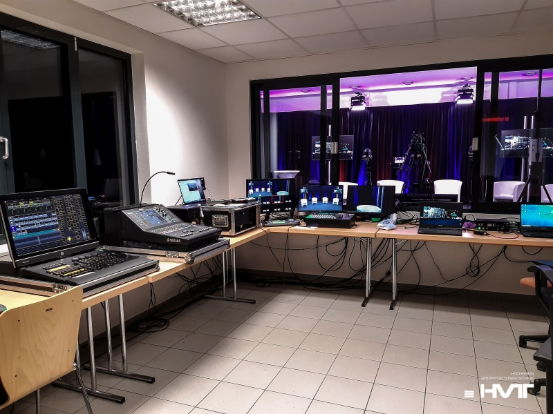 Waldshut Streaming Studio für Online Events von HVT